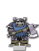 Dwarf Warrior (Undead)